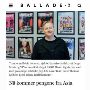 BALLADE NORWAY