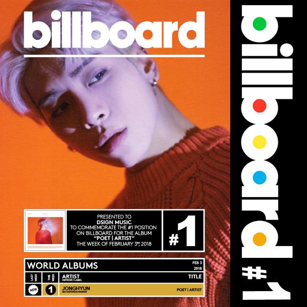 billboard_Jonghyun_poetartist_worldalbums